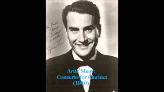 Artie Shaw - Concerto For Clarinet (Stereo) 1940