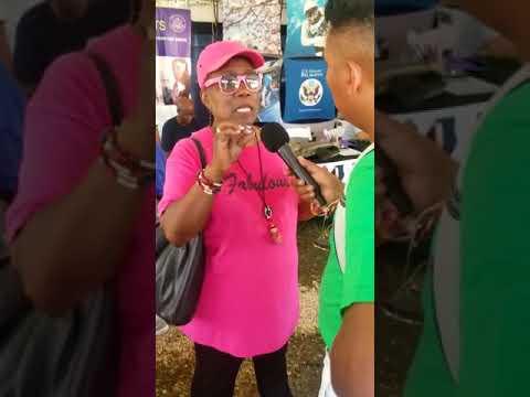 Priscilla Dames' Belize Radio Interview