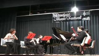 Poulenc sextet - II Divertissement. Andantino.mov