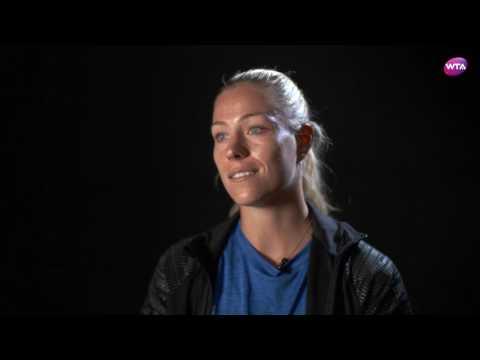 Angelique Kerber   2017 Internazionali BNL d'Italia   Pre-Tournament Interview