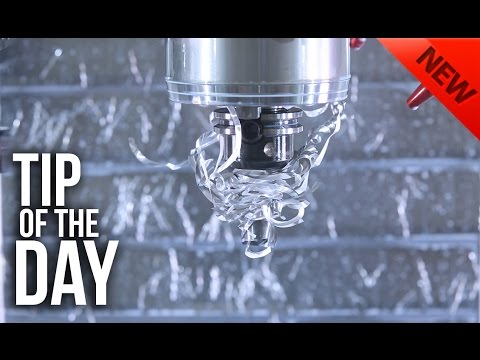 Stringy Chips Wrapped Around Your Tools? Mark Has a Solution! – Haas Automation Tip of the Day