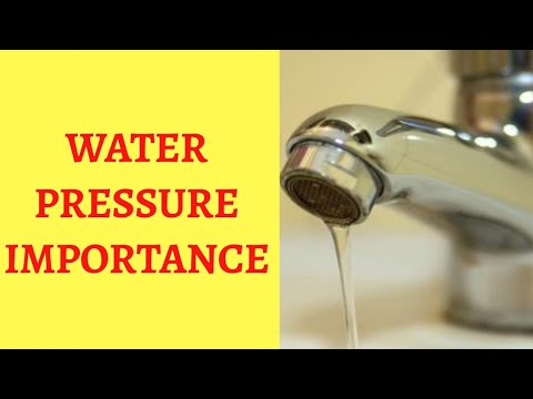 water-pressure-importance