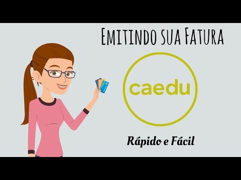 Emitindo sua Fatura do cartão CAEDU