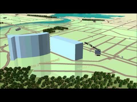 3D Spatial Visualization of Possible Underground Development in Singapore
