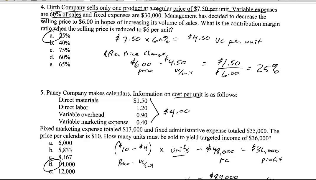 accounting 2301 review questions exam 3