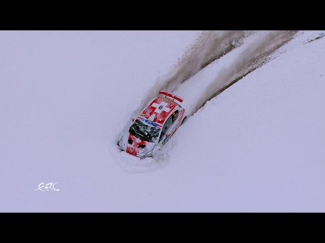 Internationale Jännerrallye powered by GaGa Energy – Hirschi doing off piste