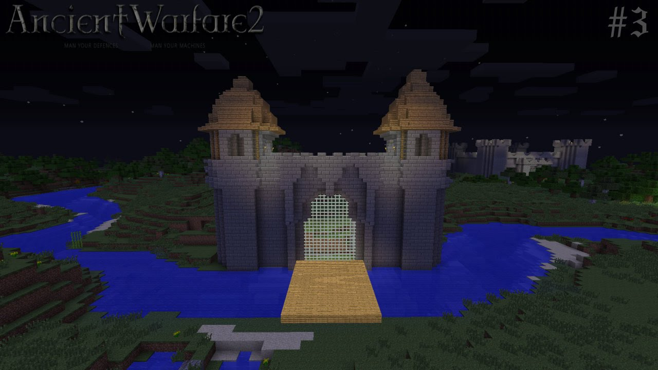 Ancient Warfare Smp 3 Gate Of Our Kingdom Minecraft Mods