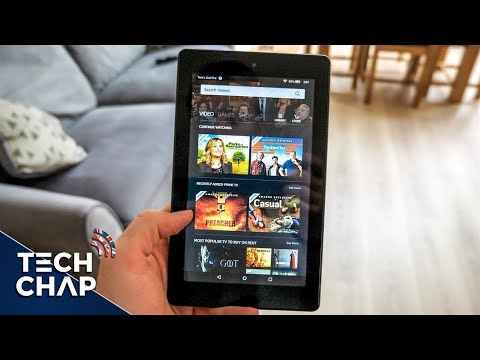 The £50 Tablet! Amazon FIRE 7 with Alexa Review | The Tech Chap