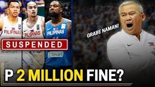 Ang Posibleng Ipataw ng FIBA sa GILAS PILIPINAS   Suspension, Fines, etc.
