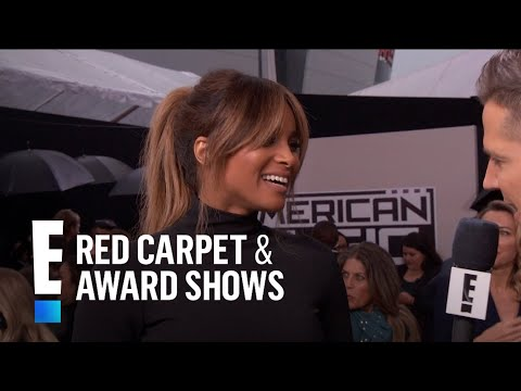 Ciara Debuts Her Baby Bump at the American Music Awards | E! Live from the Red Carpet