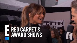 Ciara Debuts Her Baby Bump at the American Music Awards | E! Red Carpet & Award Shows Video