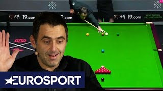 Ronnie O'Sullivan's Unique Break | Northern Ireland Open Snooker 2019 | Eurosport
