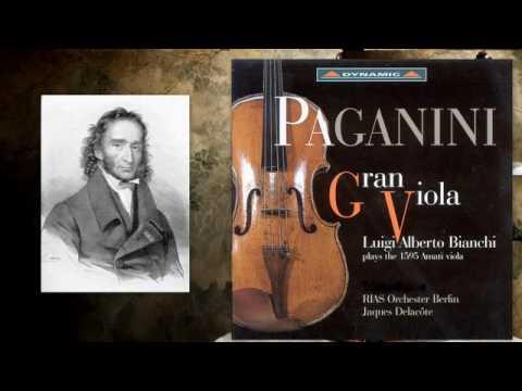 Niccolo Paganini: Sonata per la Grand Viola, M.S. 70, Luigi Alberto Bianchi (1595 Amati viola)