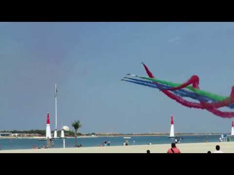 Al Forsan Air Show in Abu Dhabi