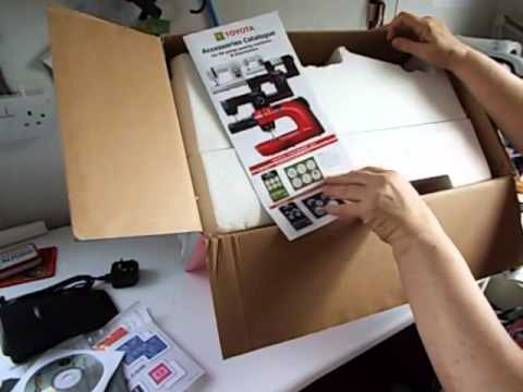 Unboxing Toyota Oekaki Renaissance Sewing Machine YouTube Magnificent Oekaki Sewing Machine Reviews