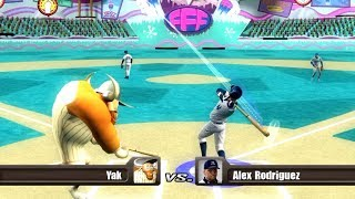 ALEX RODRIGUEZ VS. YAK HOMERUN DERBY! NICKTOONS MLB XBOX 360!