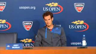 US Open 2013  Andy Murray crashes out US Open 2013  #Stanislas Wawrinka
