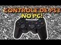 CONTROLE DE PS3 NO PC! COMO USAR/EMULAR CONTROLE DE PLAYSTATION NO COMPUTADOR! Motion in Joy
