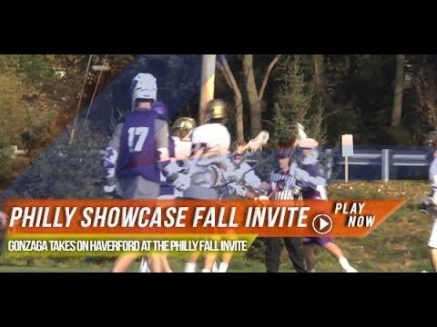 Haverford Vs Gonzaga | 2013 Philly Fall Showcase Invite | 2013 Lax.com Highlights