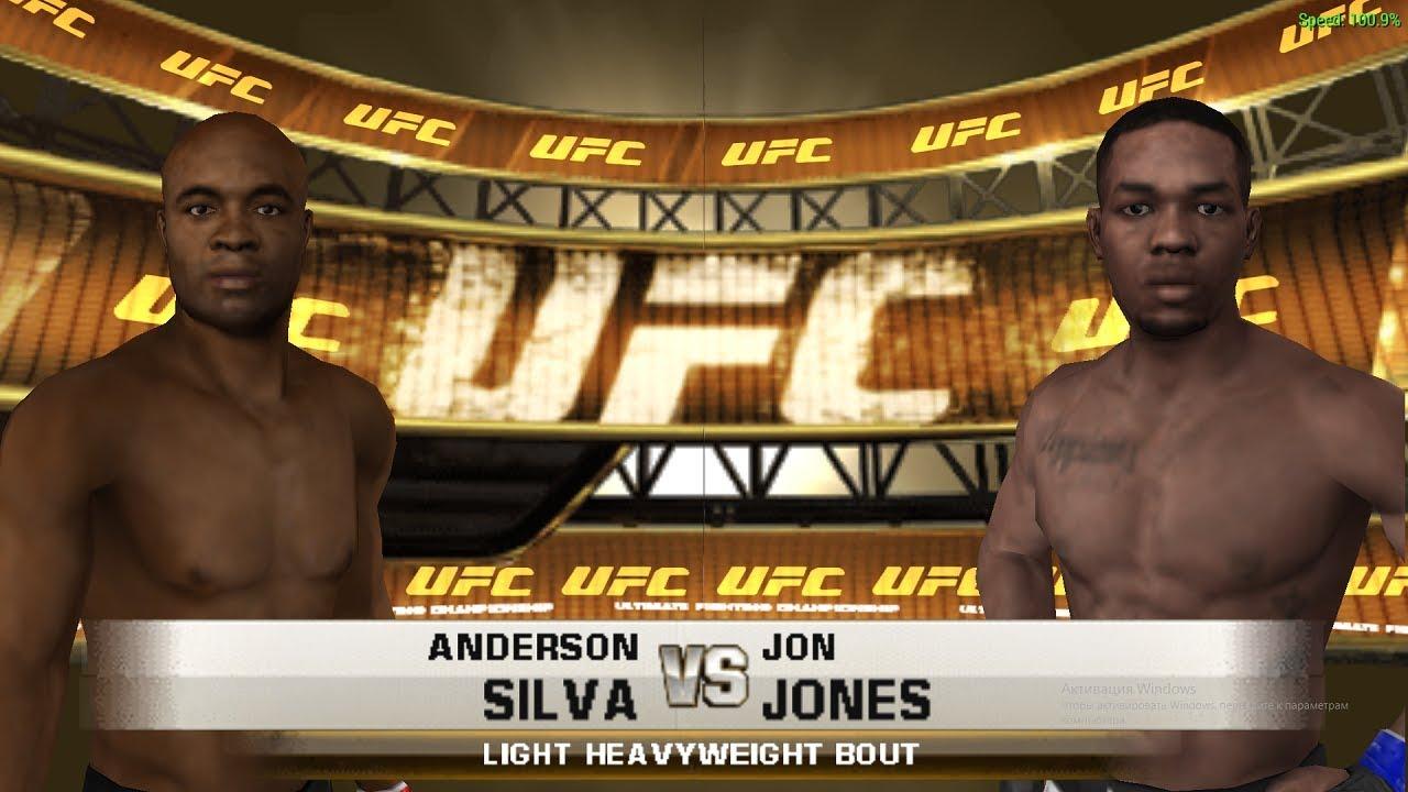 Андерсон силва против джон джонса
