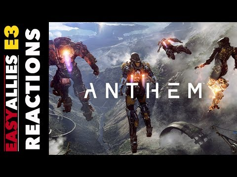 Anthem - Easy Allies Reactions - E3 2017