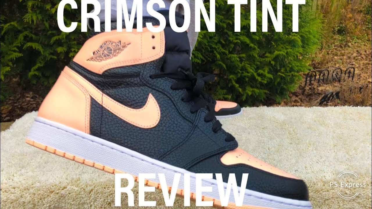 Surtido Fortalecer Perth  JORDAN 1 CRIMSON TINT REVIEW/ ONFOOT/ UNBOXING - YouTube