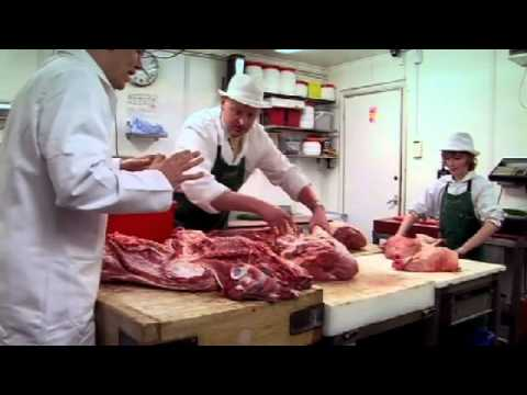 Tom Parker Bowles Attempts to Eat Whole Pig - Gordon Ramsay