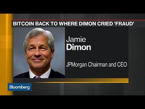 Bitcoin's Steep Fall Returns to Jamie Dimon's 'Fraud' Level