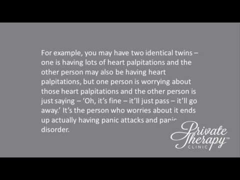Panic Disorder Treatment  Video