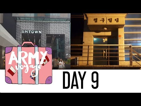 【ARMY Voyage】 Day 9 - Visiting BIGHIT and SM.︱KOREA Vlog.