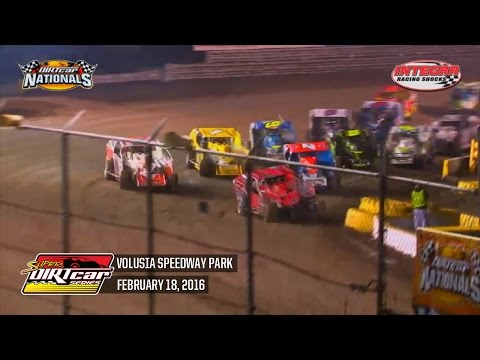 Highlights: Super DIRTcar Series Big Block Modifieds Volusia Speedway Park February 18th, 2016