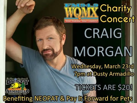 WQMX Charity Show: Craig Morgan