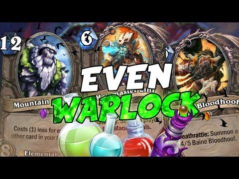Even Warlock, un deck ormai DIMENTICATO! | Hearthstone
