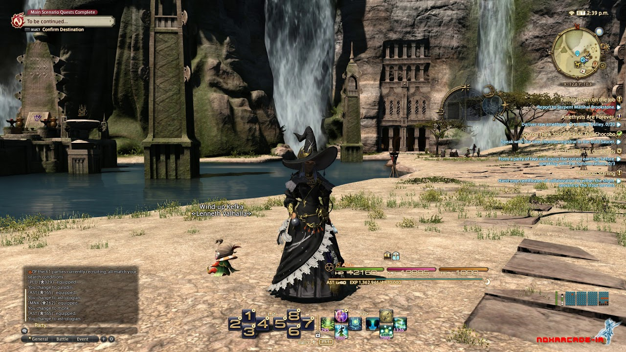 How to expand the hotbar for controller in FFXIV