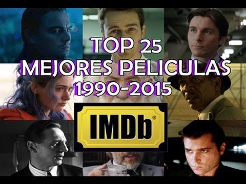 TOP 25 Mejores Películas (1990-2014) de IMDb
