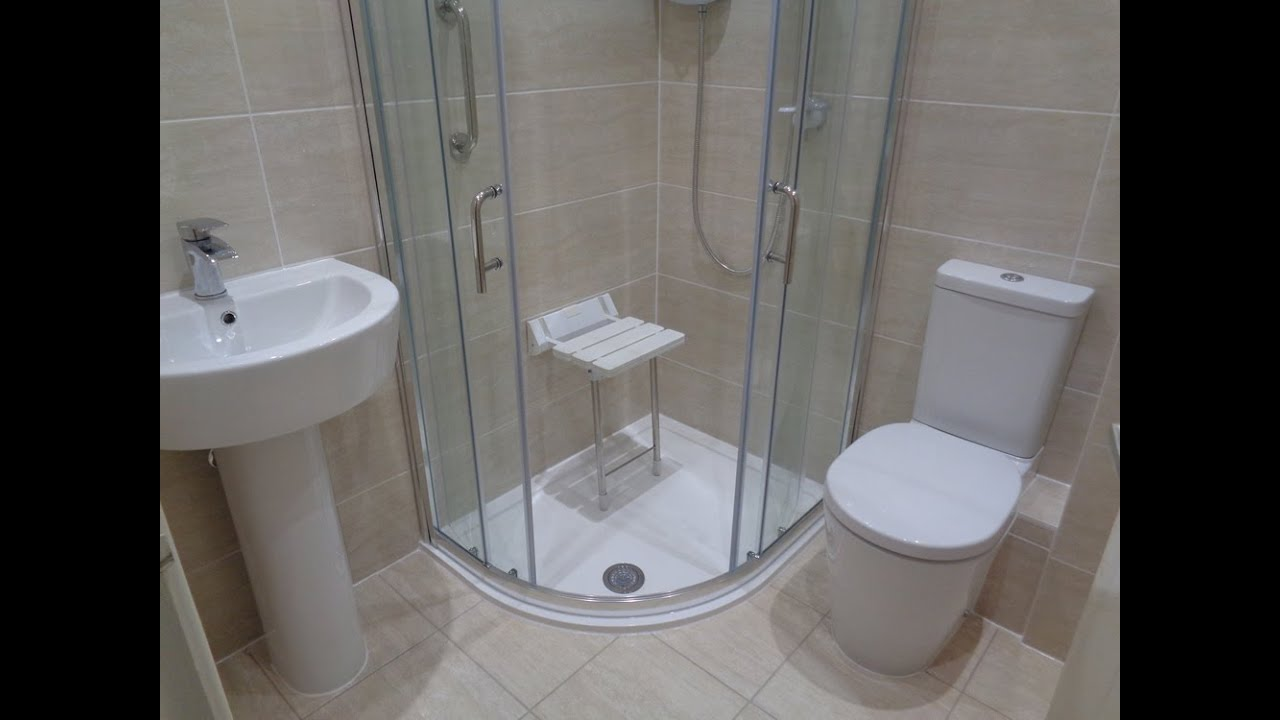 Disabled Bathroom Shower for Pensioner with Mobility Requirements ...
