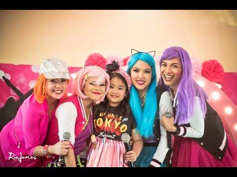 Bella's Rockstar 7th Birthday Party At Amistosa Alabang