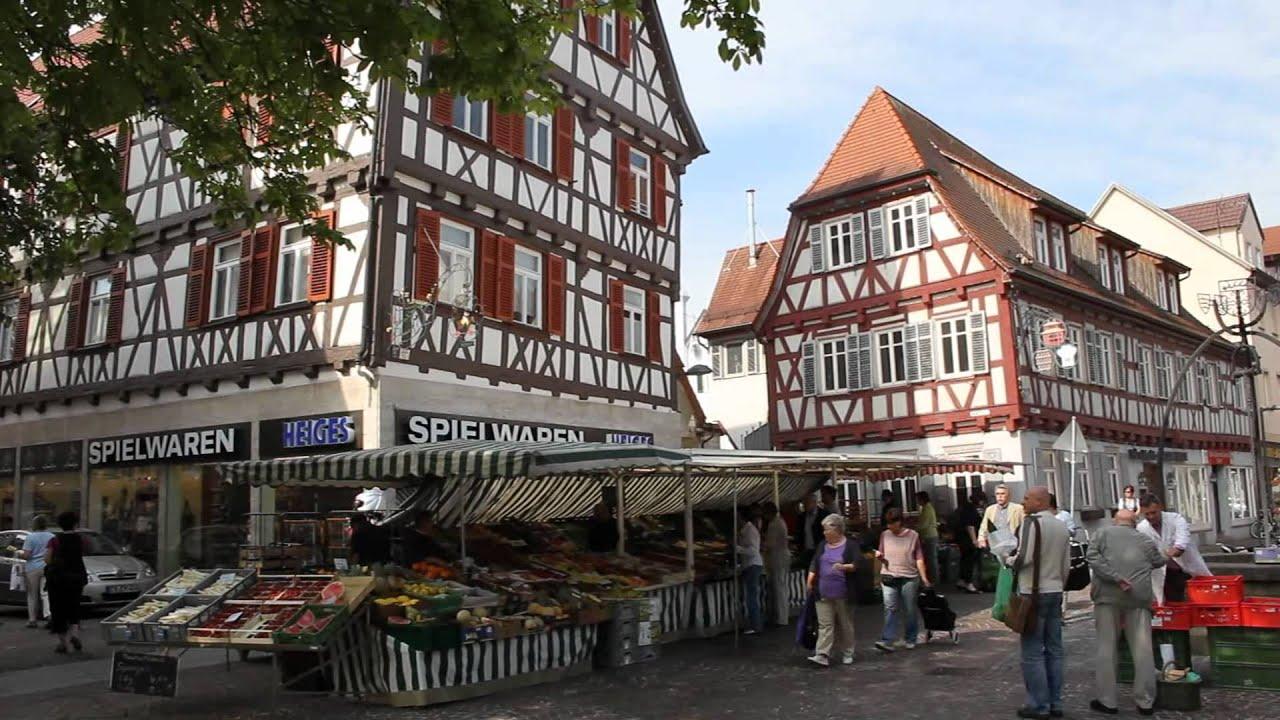 Kirchheim unter Teck in HD  YouTube