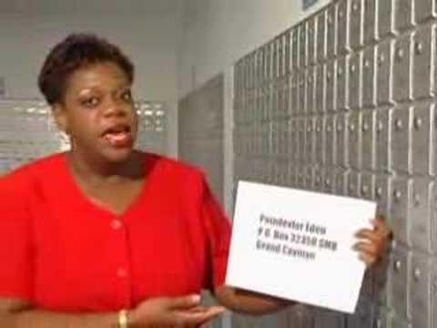 Cayman Islands Postal Service Instructional Video