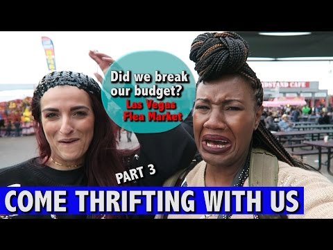 $60 Budget at the Broad Acres Flea Market Part 3| Come Thrifting With Us |#ThriftersAnonymous