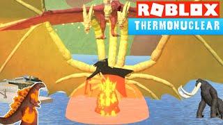 Thermonuclear Godzilla Ramage! in Kaiju Online the Godzilla Roblox Video Game