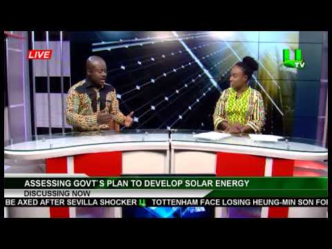 Ghana Solar Energy - with Ing. Maxmillian KWARTENG