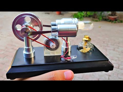 wow!-5v-dc-motor-to-dc-generator-using-stirling-engine-|-external-combustion-engine-kit