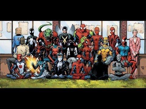 Костюмы Супергероев. Человек-паук в комиксах. Часть 1 [by Кисимяка]