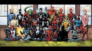 Костюмы Супергероев. Человек-паук в комиксах. Часть 1 [by Кисимяка](История костюмов Spider Man в комиксах Другие видео из цикла