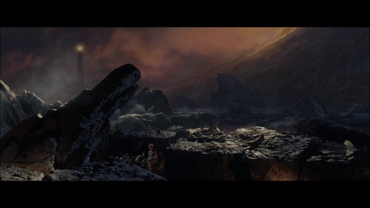 The Deleted Scene of LoTR