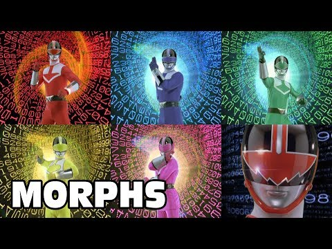 Power Rangers Time Force - All Ranger Morphs | Episodes 1-40 | It's Morphin Time | Superheroes