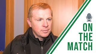 Neil Lennon on the Match | Rangers 0-1 Celtic | CELTIC WIN 10TH TROPHY IN A ROW!