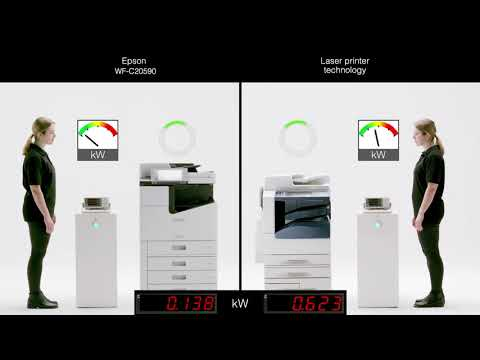 Helping businesses and organisations 'go green' with Epson WorkForce Enterprise printers