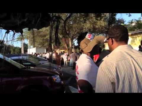 Early Voting in North Miami, Miami Dade County Florida